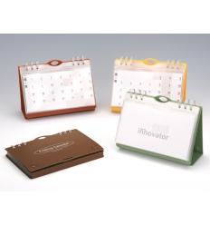 Folding table calendar
