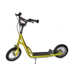 Sparkcykel med tryck