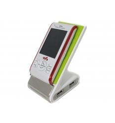 Mobilhållare - USB-hubb