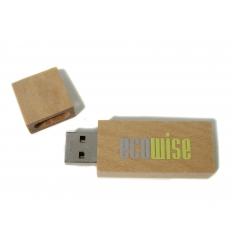 USB flash drive - maple wood