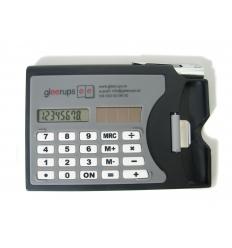 Miniräknare med korthållare