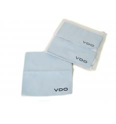 Microfibre cloth with imprint