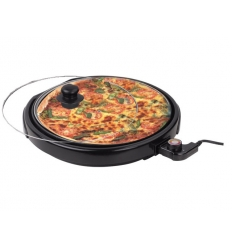 Electric pizza grill