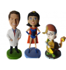 Custom designed Bobble Heads