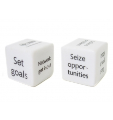 Dice with print