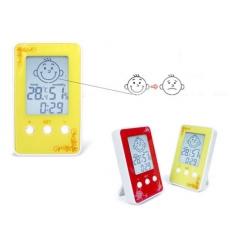 Termometer och luftfuktighetsmätare