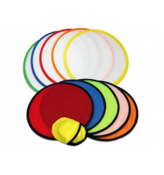 Foldable frisbee with print