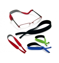 Elastic eyeglasses holder with print