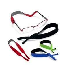 Elastisk glasögonhållare med tryck