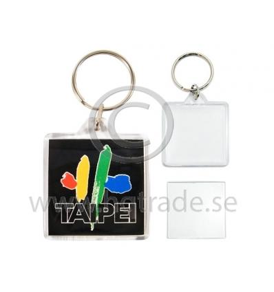 Nyckelring med tryck - Import   tillverkning för promotion 71a6a725431cf