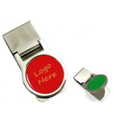 Logo money clip