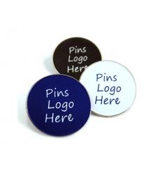 Pins med logotryck