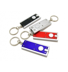 LED flashlight keychain - with print