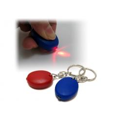 Ficklampa i nyckelring
