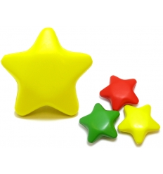 Stress ball with print - star
