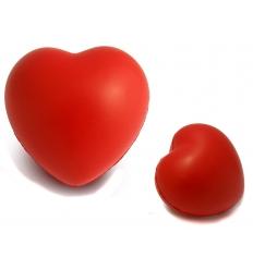 Stressboll med tryck - hjärta