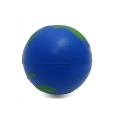 Stress ball with print - globe
