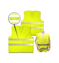 Safety reflective vest with print