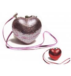 Hjärtformad väska