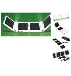 Vikbar solcellsladdare