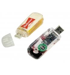 USB flash drive - Aqua USB