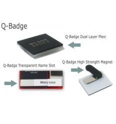 Q-Badge - Name tag