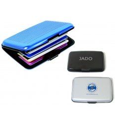 Credit card holder with print