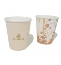 Paper cup with print