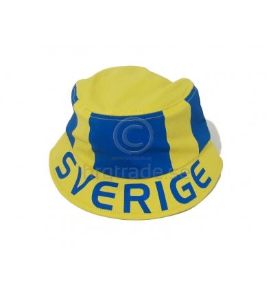 Sverigemössa - solhatt - Import   tillverkning för promotion 504a75646ca09