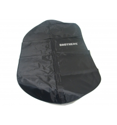 Travel garment bag with print