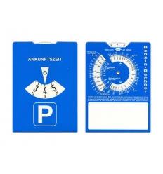 Paper parking disk