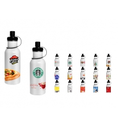 Bottle with sublimation print