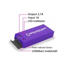 Nödbatteri med tryck