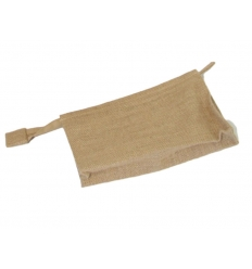 Travel toilet bag - jute