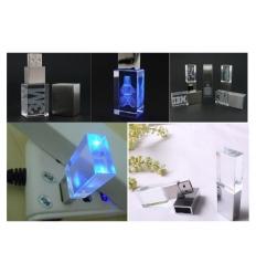 USB-minne - 3D Crystal gravyr