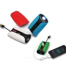 Nödbatteri för mobilen - Med ficklampa