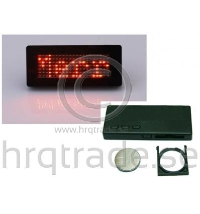 LED-namnskylt