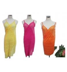 Beach dress - solid colour