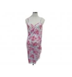 Beach dress - flower pattern