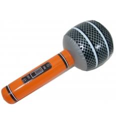Uppblåsbar mikrofon