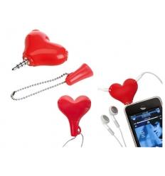 Earphone splitter - heart