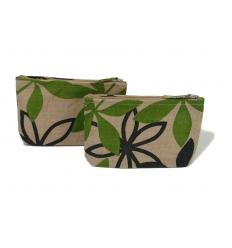 Cosmetic bag - Jute