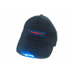 Cap with light