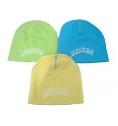 Beanie hat with print
