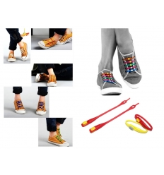 Silicone shoelace