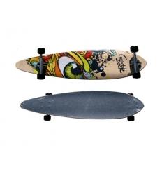 Longboard med tryck