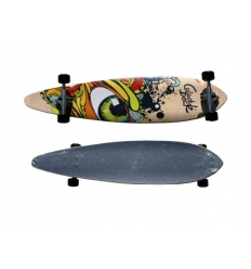Longboard with customised print