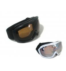 Ski goggles with print