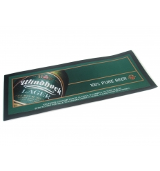 Bar mat with print