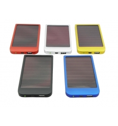 Mobilladdare med batteri - Solcell